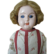 "20"" tall German Metal shoulder Head Doll Image of Perfection !"