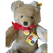"14 1/2 "" Tall Steiff Bear"
