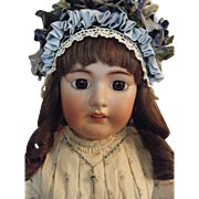 "Giant 32"" Tete Jumeau Doll Absolutely Beautiful"