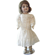 Antique German Doll  Simon and Halbig 550 All Original Made for Gimbal`s department Store