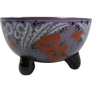 Emmy Seyfried glass finger bowl in Tango colors