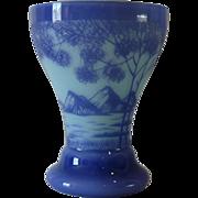 SALE Deco era Kralik Cameo glass vase. Bohemian glass