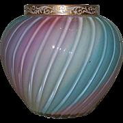 Loetz Rainbow Jardinere glass vase