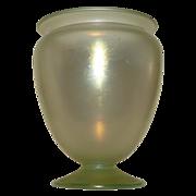 Steuben urn form glass vase