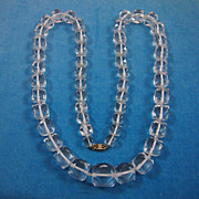 Vintage Strand of Russian-Cut Crystal Beads