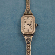 Edwardian Lady's Bulova Wristwatch