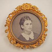 Late Victorian Gilded Frame