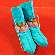 Chinese Silk Night Slippers