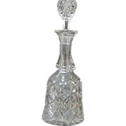 SALE *Final Clearance ~ Cut Glass Decanter ~Large - Heavy - Elegant