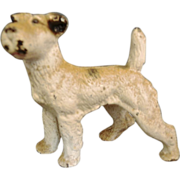 SALE *Final clearance ~ Vintage Cast Iron Hubley Fox Terrier Figurine/Paper Weight