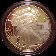 SOLD 1986 Proof United States Silver Eagle in Original Box