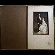 1920 Wedding Photographs, Marriage Certificate, Memorabilia- Newburyport, MA.