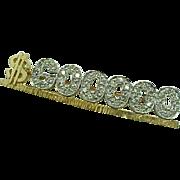 MARY KAY 14 K Yellow Gold & Diamond  $600.000 Award Pin  ~Collectors ~