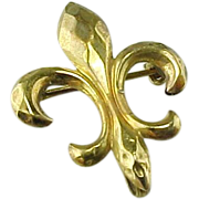 SALE Antique Victorian Fleur De Lis Vintage Watch Pin/ Brooch /Pendant