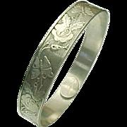 Sterling Silver Child's (Baby) Bangle Bracelet