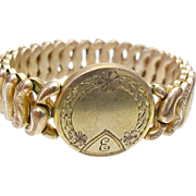 Beautiful American Queen Sweetheart Expansion Bracelet by Pitman and Keeler