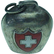 Vintage Medical Cross Bell Charm