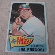 Vintage 1965 Topps Baseball Card Jim Fregosi