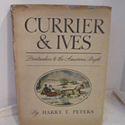 SOLD Vintage Currier & Ives Book 1942