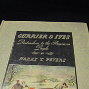 SOLD Vintage Currier and Ives Book