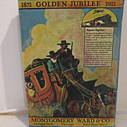 Vintage Reprint of the Golden Jubilee Edition of the Montgomery Wards Catalogue 1922-23