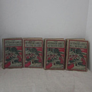 SALE Vintage Set of Four Outdoor Girls Books