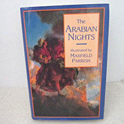 SOLD Vintage Arabian Nights Illustrated by Maxfield Parrish