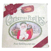Box of 4 Christmas Pop-Ups Books