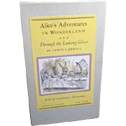 Two Volume Set Alice in Wonderland and Through the Looking Glass