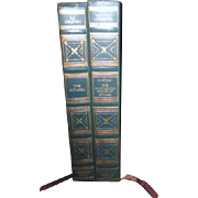 2 Volume Set from International Collectors Library Agatha Christie and A.J. Cronin