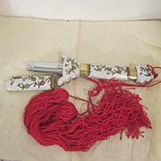 "SALE Vintage Chinese Cloisonne ""Ceremonial"" Sword"
