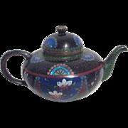Miniature Japanese Cloisonne Tea Pot
