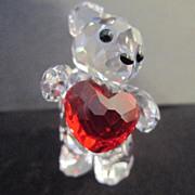 REDUCED Swarovski Miniature A Heart For You