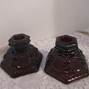 Avon Cape Cod Collection Small Candle Holders Set of 2