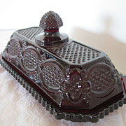 Avon Cape Cod Collection Covered Butter Dish