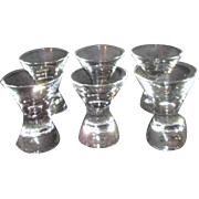 Set of 6 Clear Drink Glasses