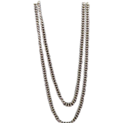 Long Lightweight Goldtone Chain West Germany