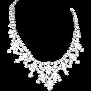 Elaborate Rhinestone Necklace
