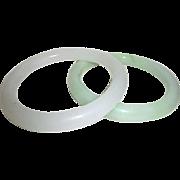 Pair of Glass Bangle Bracelets