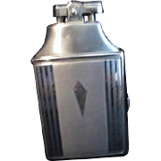 Ronson Silver Colored Cigarette Case and Lighter