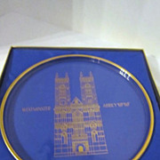 Vintage Orrefors Annual Collector Plate 1971