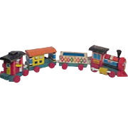 Fisher Price Huffy Puffy Wooden Toy Train