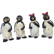 Set of 2 Pairs of Penguin Salt and Pepper Shaker Sets Millie and Willie from ...