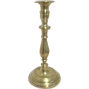 Heavy Brass Candle Holder