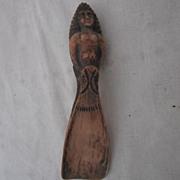 Vintage Two-Sided Sculpture Shoe Horn