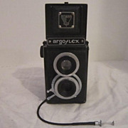 Vintage Argus Argo Flex Camera With Leather Case 1948-1958