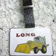 Watch Fob Long Mfg with Tractor on Front