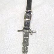 Vintage Watch Fob Gardner Denver Co.
