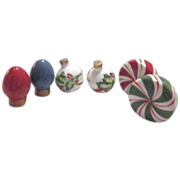 3 Sets Christmas Ornaments S& P Shakers