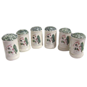 """3 Sets Christmas """"Let it Snow"""" S&P Shakers"""